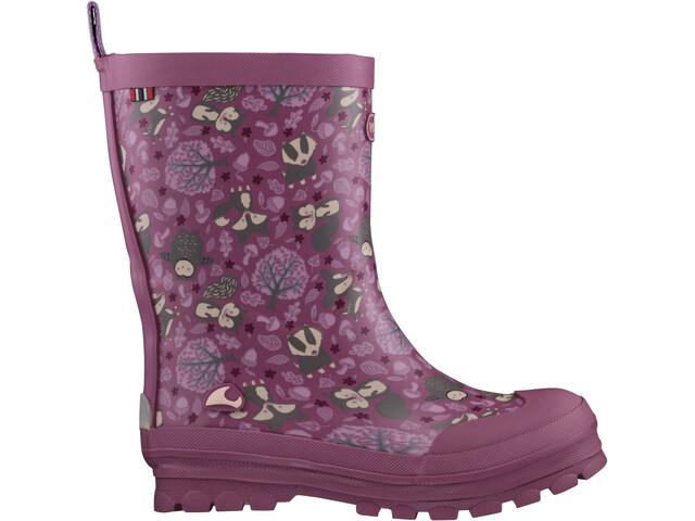 Viking Footwear Jolly Woodland Botas Niños, rosa